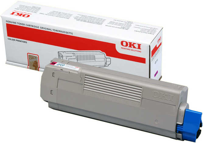 Тонер-картридж OKI TONER-M-C532/MC573/MC563-6K-NEU (46490630) тонер картридж oki toner w pro711wt 6k 44318657