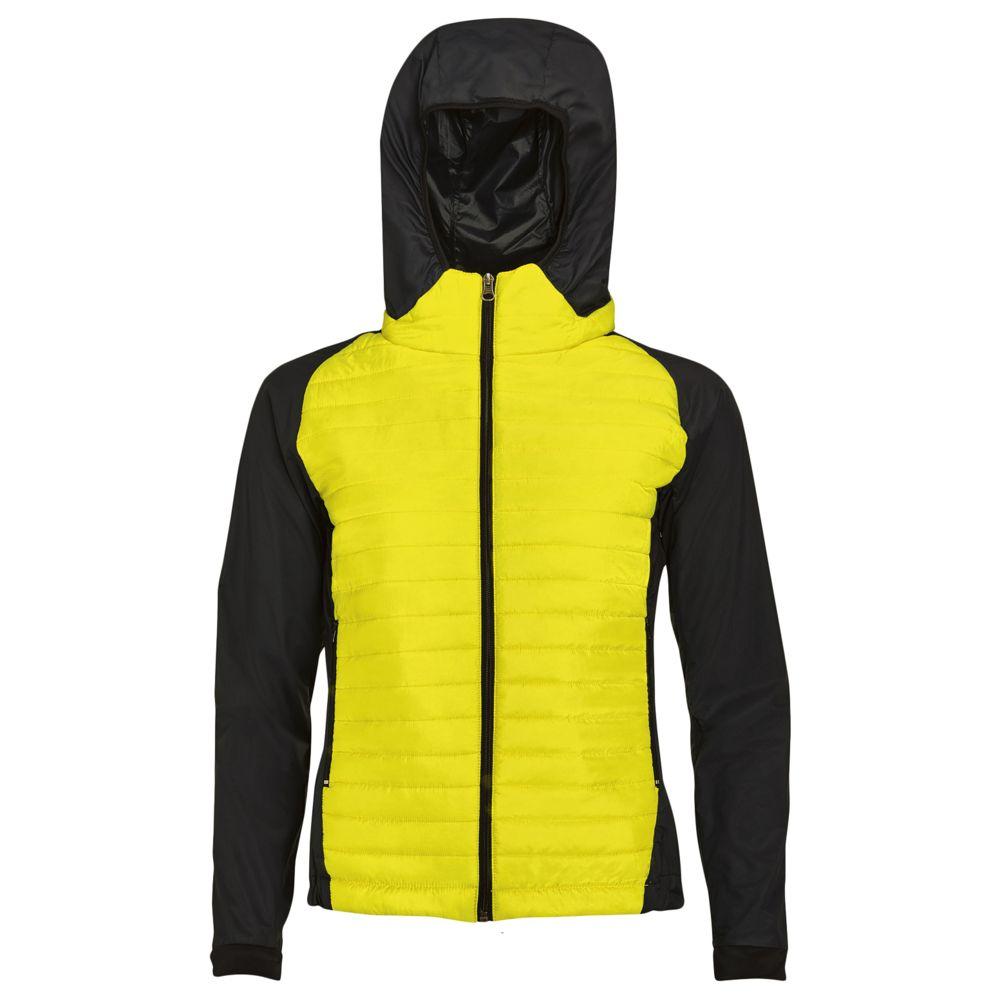 Куртка NEW YORK WOMEN неоновый желтый, размер L