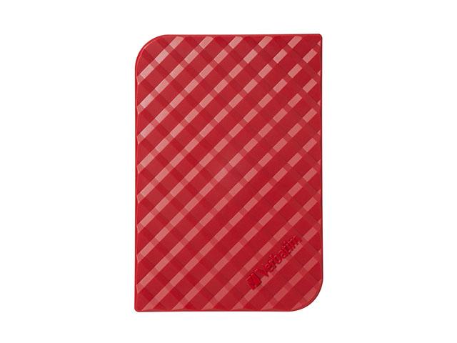 Внешний жесткий диск Store 'n' Go Style 1ТБ (53203), красный внешний жесткий диск store n go style 1тб 53194 черный