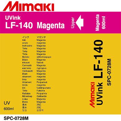 Фото - Чернила Mimaki LF-140 SPC-0728M Magenta чернила mimaki lf 140 spc 0728lc light cyan
