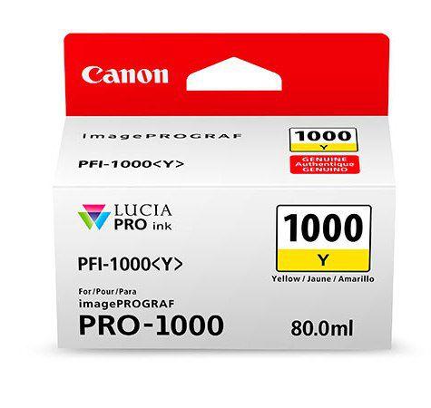 Фото - Canon PFI-1000Y Yellow 80 мл (0549C001) pfi 701y yellow