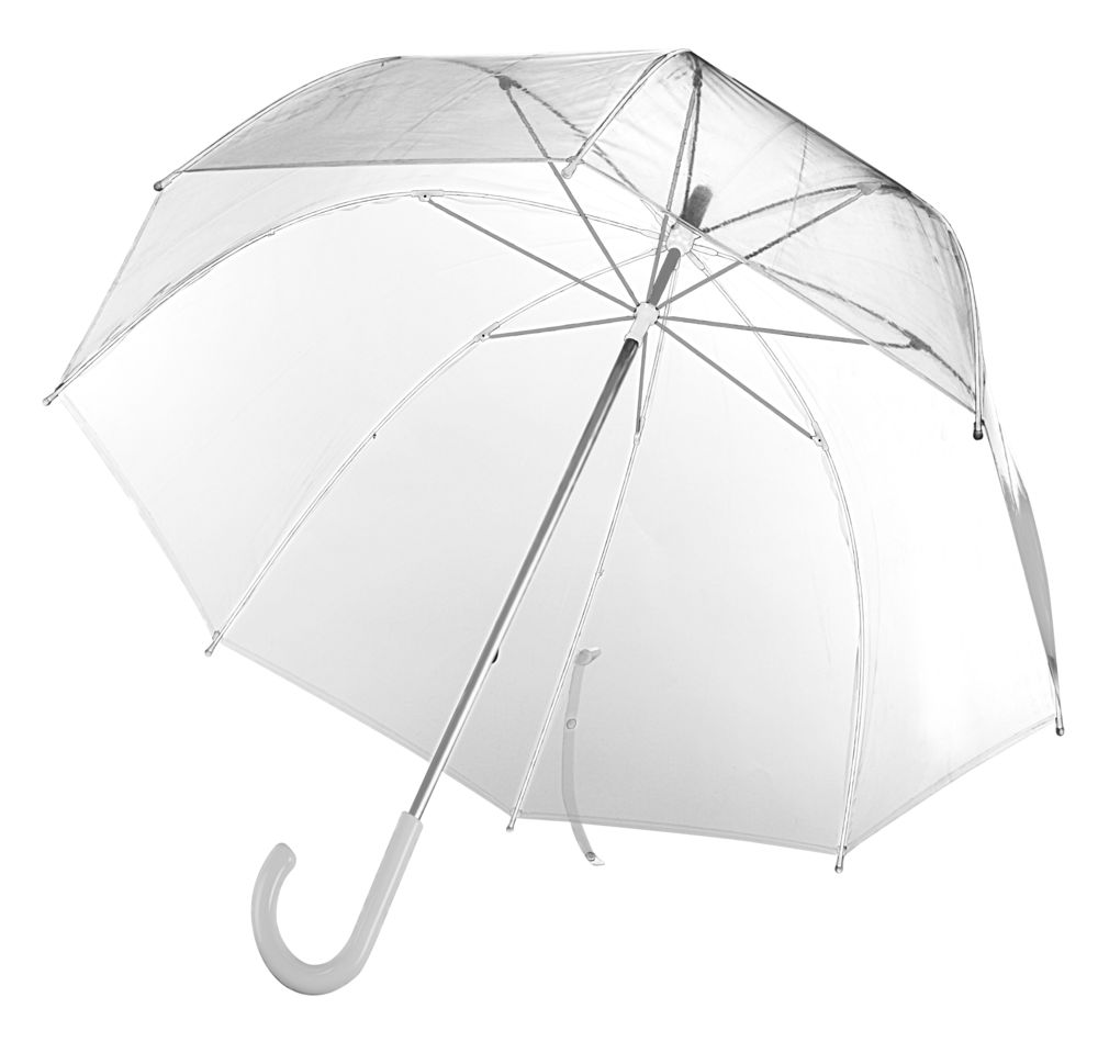Прозрачный зонт-трость Clear фото