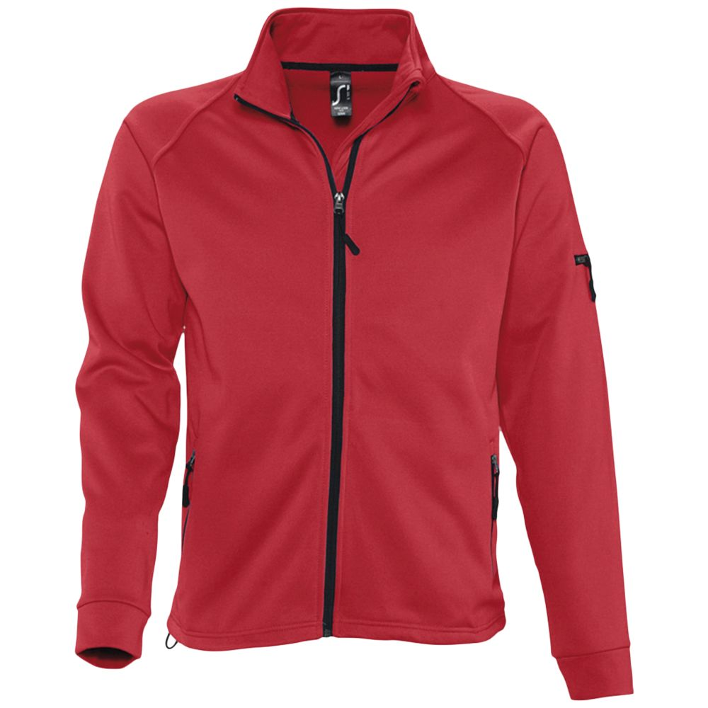 Куртка флисовая мужская New look men 250 красная, размер M