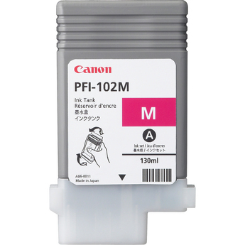 PFI-102M Magenta 130 мл (0897B001) pfi 106pm photo magenta 130 мл 6626b001