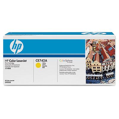 Фото - Тонер-картридж HP CE742A тонер картридж hp c4193a