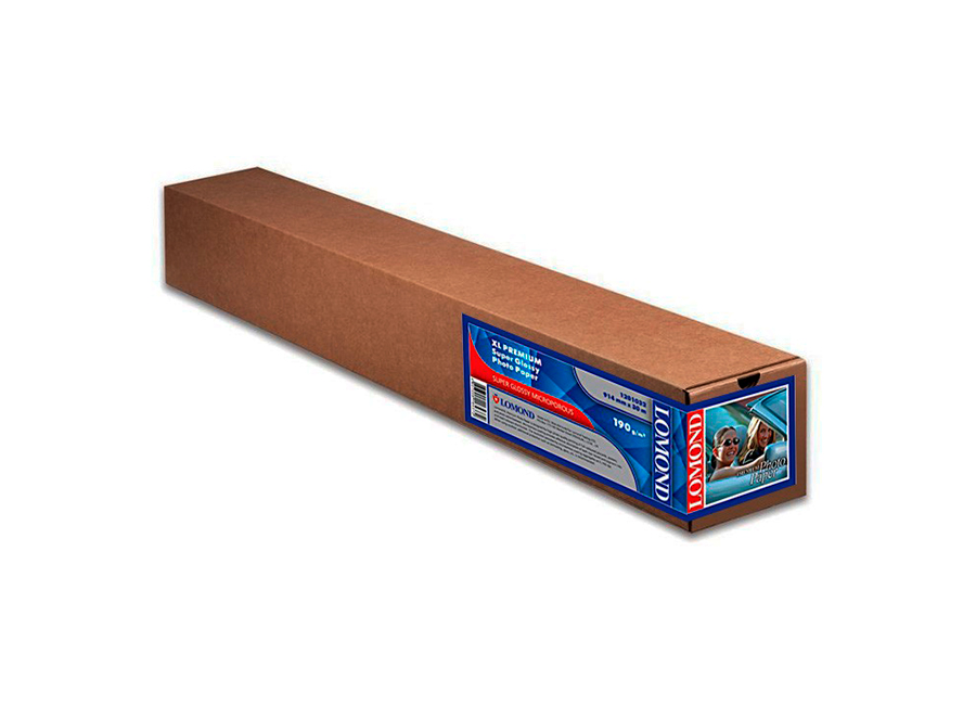 Lomond XL Premium Super Glossy Photo Paper 190 г/м2, 0.914x30 м, 50.8 мм (1201032) clinique chubby stick увлажняющая помада бальзам для губ 07 super strawberry
