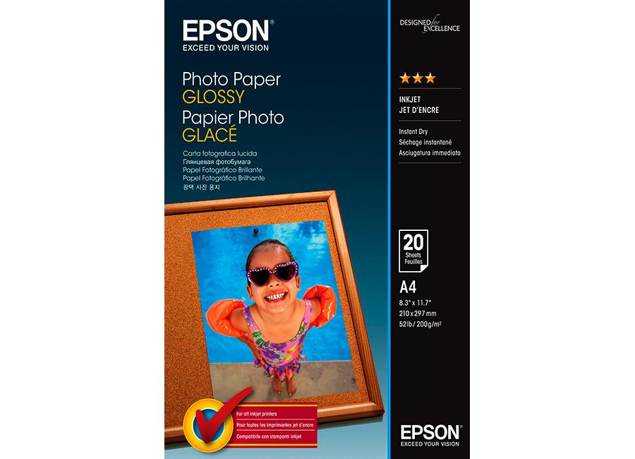 Epson Paper Glossy Photo A4, 200 г/м2, 50 листов (C13S042539)