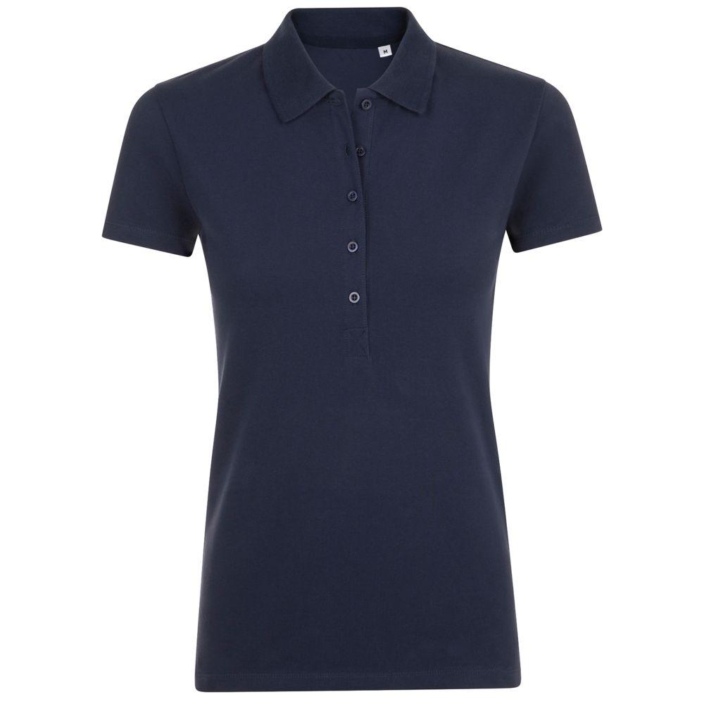 Рубашка поло женская PHOENIX WOMEN темно-синяя, размер XXL фото