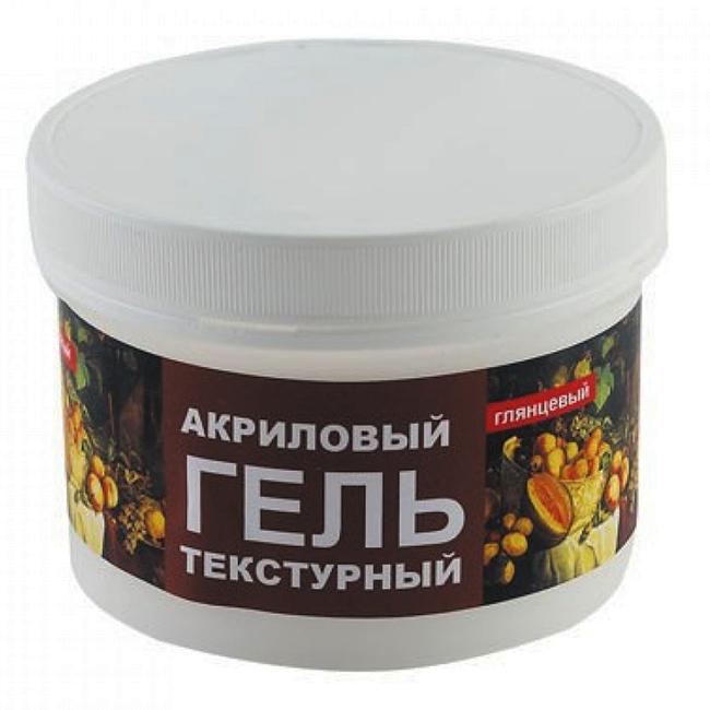 Акриловый текстурный гель Lomond Acrylic Texture Gel, глянцевый, 250 мл (1500102)