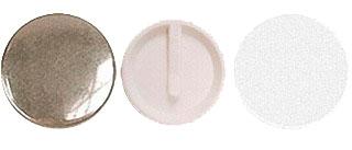 Заготовки для значков d44 мм, клипса, 200 шт клипса для парника garden show вентиляционная для дуг 11 12 мм 10 шт
