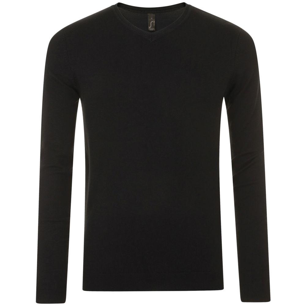 Пуловер мужской GLORY MEN черный, размер XXL пуховик мужской the north face m mcmurdo цвет черный t0a8xzjk3 размер xxl 52 54
