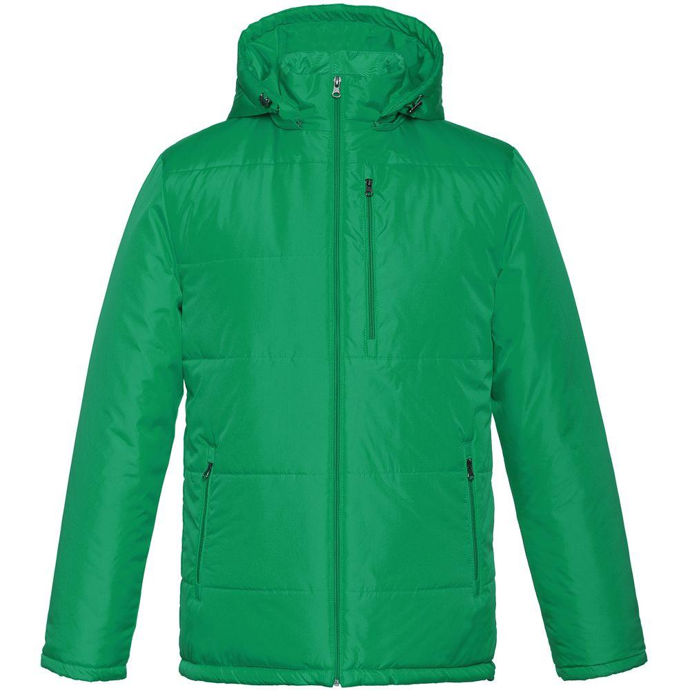 Фото - Куртка Unit Tulun, темно-зеленая, размер XL куртка unit tulun серая размер xxl