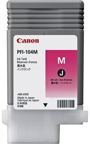 Canon Magenta PFI-104M 90 мл (3631B002) картридж canon pfi 104m пурпурный для canon ipf650 655 750 755 130мл