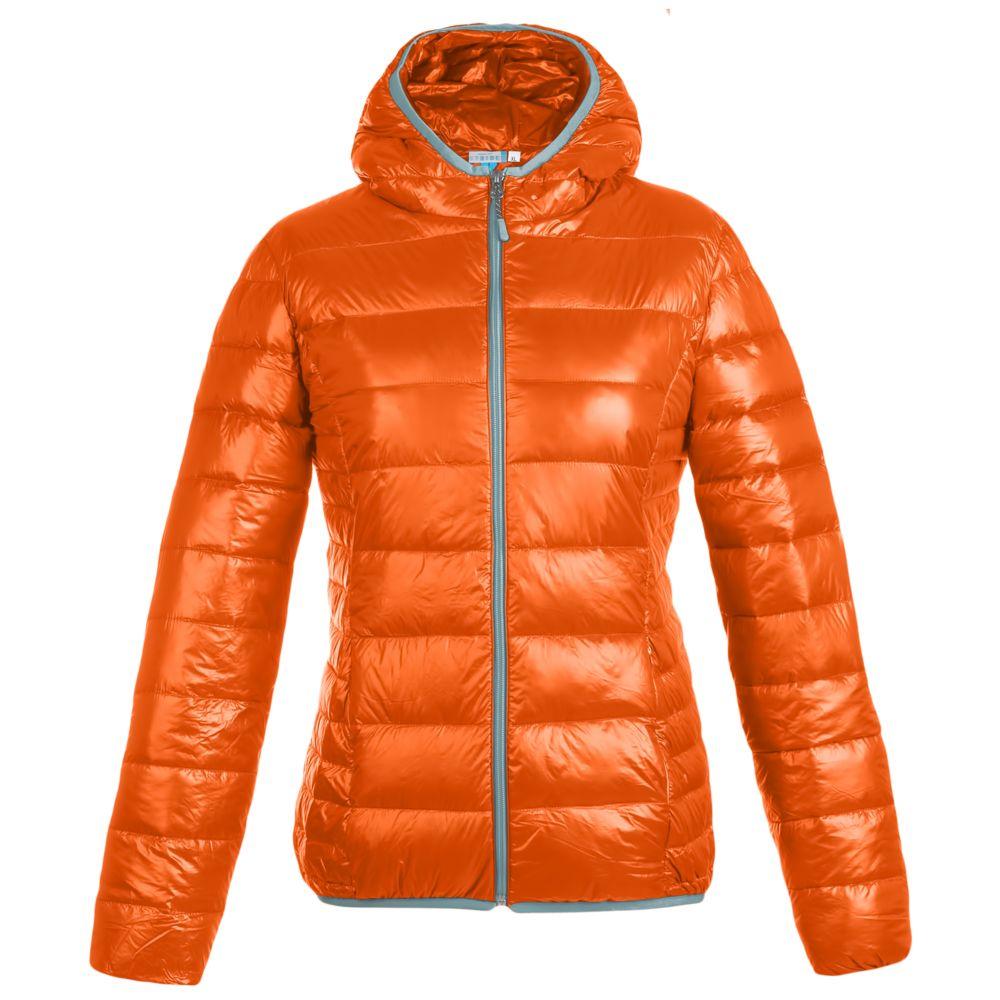Куртка пуховая женская Tarner Lady оранжевая, размер M фото