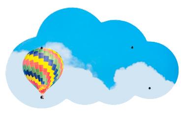 Купить Стеклянная магнитно-маркерная доска, ASKELL Cloud 120х70 см