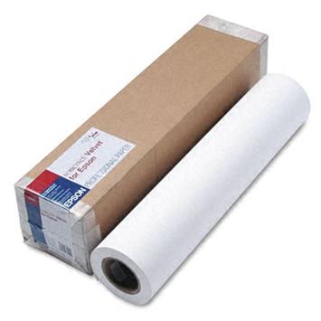 Фото - Epson Somerset Velvet Fine Art Paper 24 255 г/м2, 0.610x15 м, 76 мм (C13S041702) somerset velvet fine art paper 44 255 г м2 1 118x15 м 76 мм c13s041703