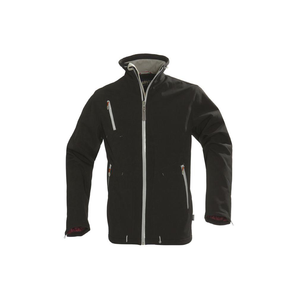 Куртка софтшелл мужская SNYDER, черная, размер M куртка софтшелл мужская snyder белая размер s