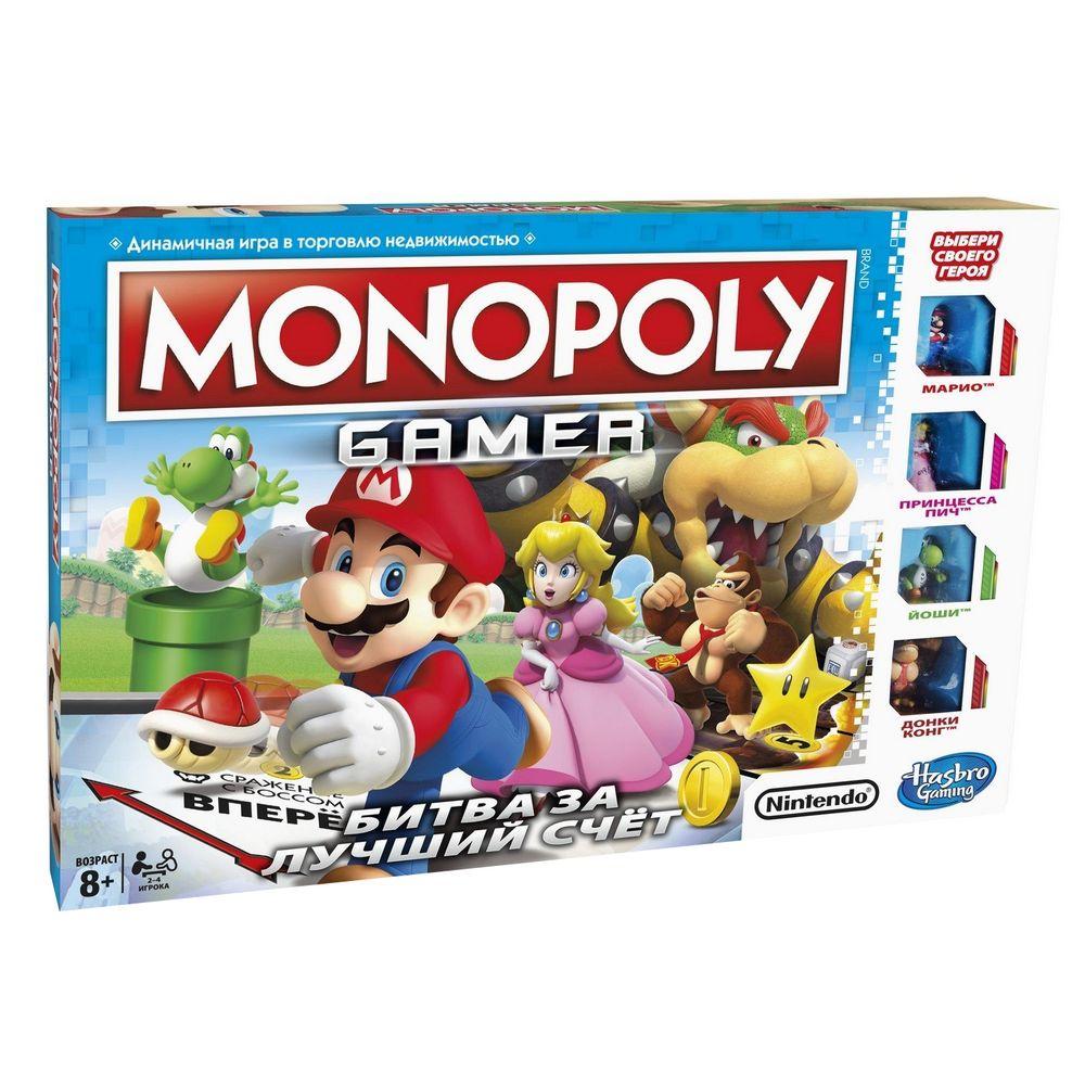 Игра настольная «Монополия. Геймер»