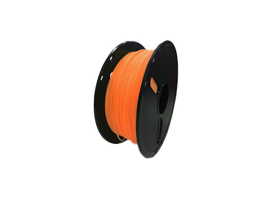 Фото - Катушка PLA-пластика Raise3D Premium 1.75 мм 1 кг., полупрозрачная оранжевая сопло v3h 0 4 мм для 3d принтера raise3d pro2 pro2 plus