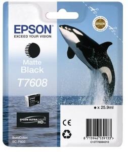 Фото - Контейнер с черными чернилами Epson T7608 для SC-P600 (C13T76084010) штора для ванной wasserkraft sc 10101 180x200