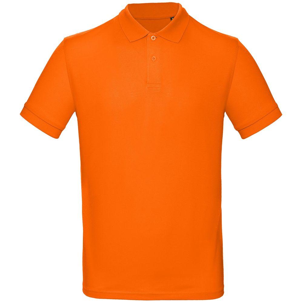 цена Рубашка поло мужская Inspire оранжевая, размер XXXL онлайн в 2017 году