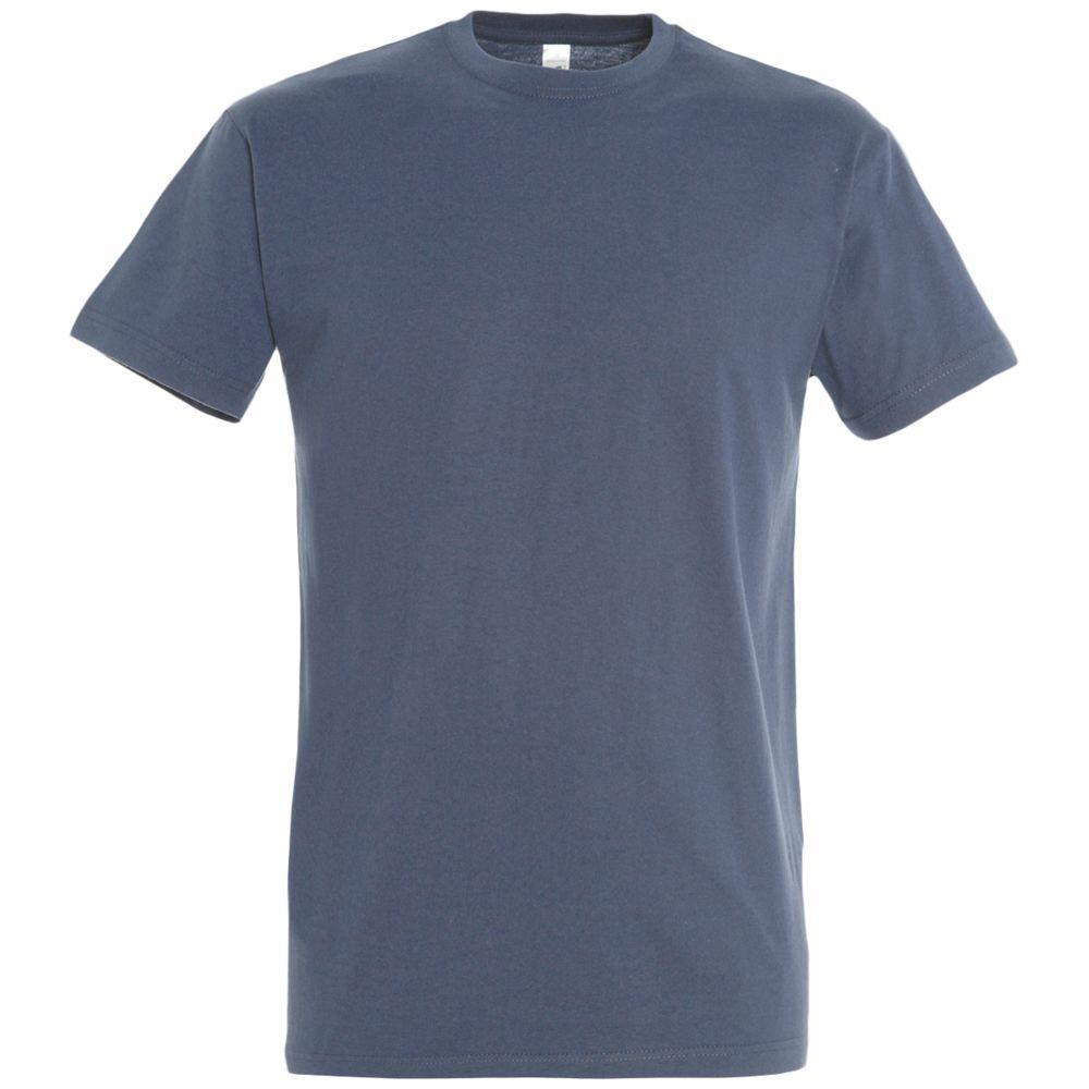 цена на Футболка IMPERIAL 190 синяя (джинс), размер 4XL