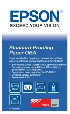 Фото - Epson Standard Proofing Paper OBA 44, 1118мм х 30.5м (250 г/м2) (C13S450189) конфеты вкусная помощь из россии с любовью 250 мл