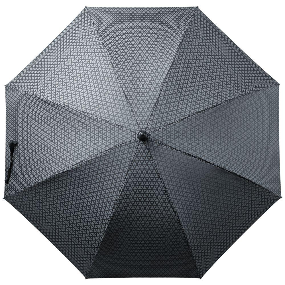 Зонт-трость Alessio, черный с серым сапоги alessio nesca alessio nesca mp002xw1higc