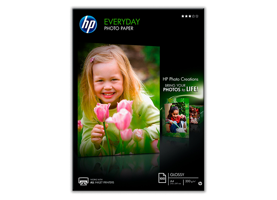 Фото - HP Universal Instant-dry Gloss Photo Paper 200 г/м2 0.610x30 м, 50.8 мм (Q6579A) hp photo realistic poster paper cg419a