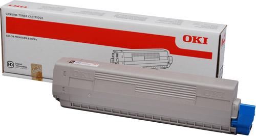 Тонер-картридж TONER-K-C831/841/C831DM-10K (44844508) цена
