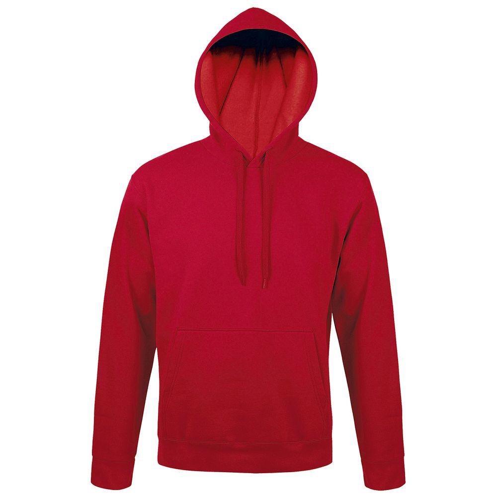 Толстовка с капюшоном SNAKE II красная, размер S