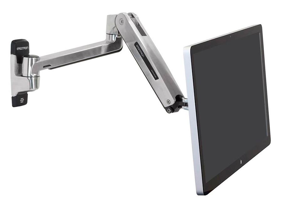 Купить Крепление, Ergotron LX HD Sit-Stand Рука (45-383-026) для монитора настенное