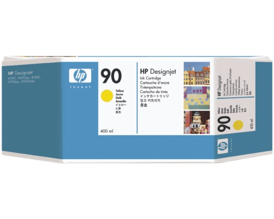 HP DesignJet 90 Yellow 400 мл (C5065A) цены