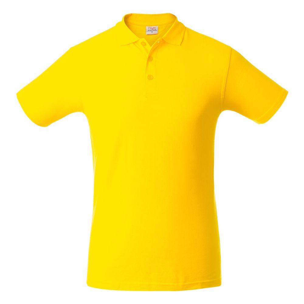 Рубашка поло мужская SURF желтая, размер 3XL