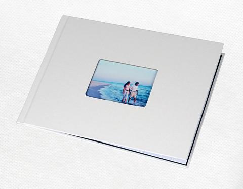 Фото - Unibind альбомная 7 мм, жемчужный корпус с окном корпус