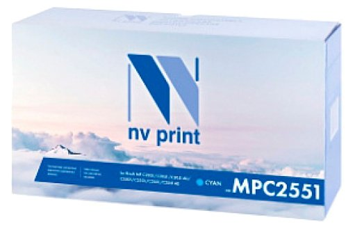 Картридж NVP MP C2551C картридж nvp mp c2551c