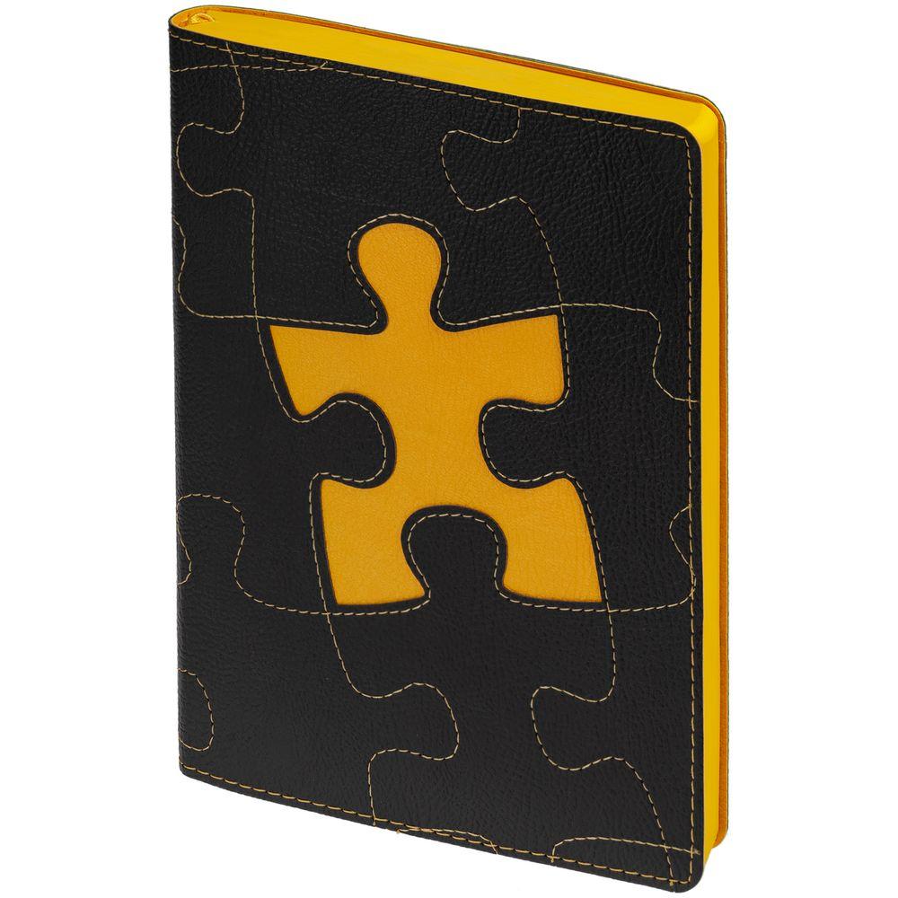 Ежедневник «Управление персоналом», недатированный, черно-желтый недорого