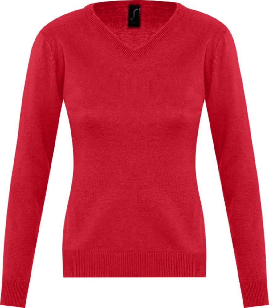 Свитер женский GALAXY WOMEN красный, размер XS платье oodji ultra цвет красный белый 14001071 13 46148 4512s размер xs 42 170