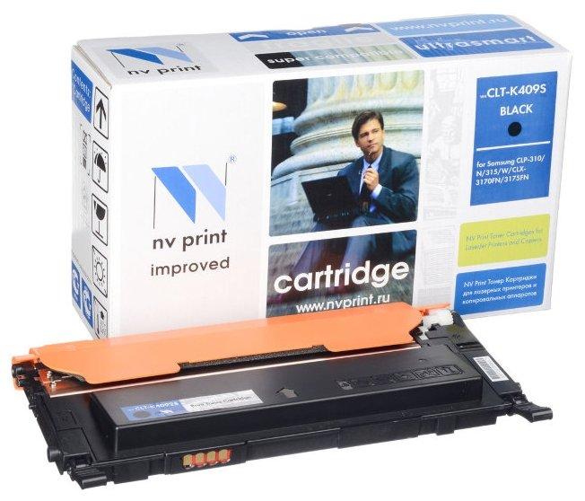 Картридж NV Print CLT-K409S картридж nv print clt k504s