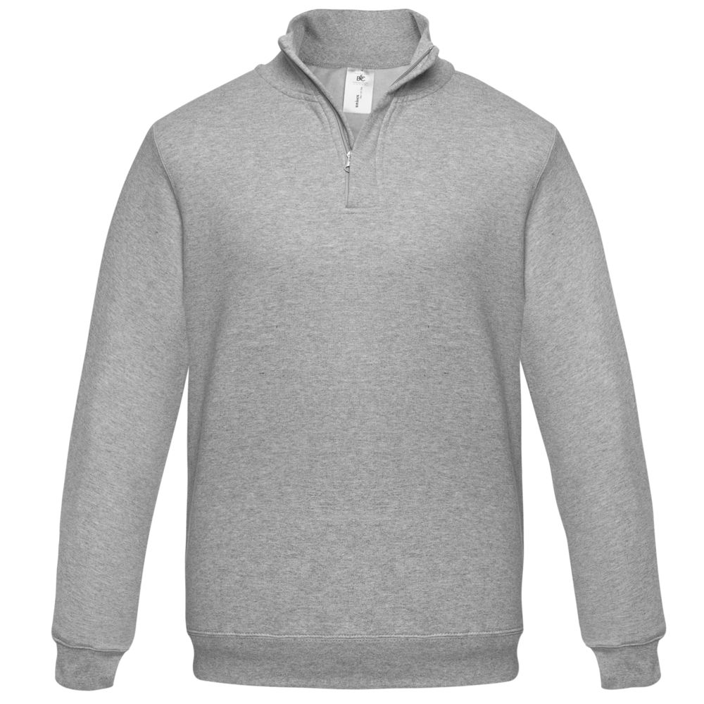 цена Толстовка ID.004 серый меланж, размер L онлайн в 2017 году