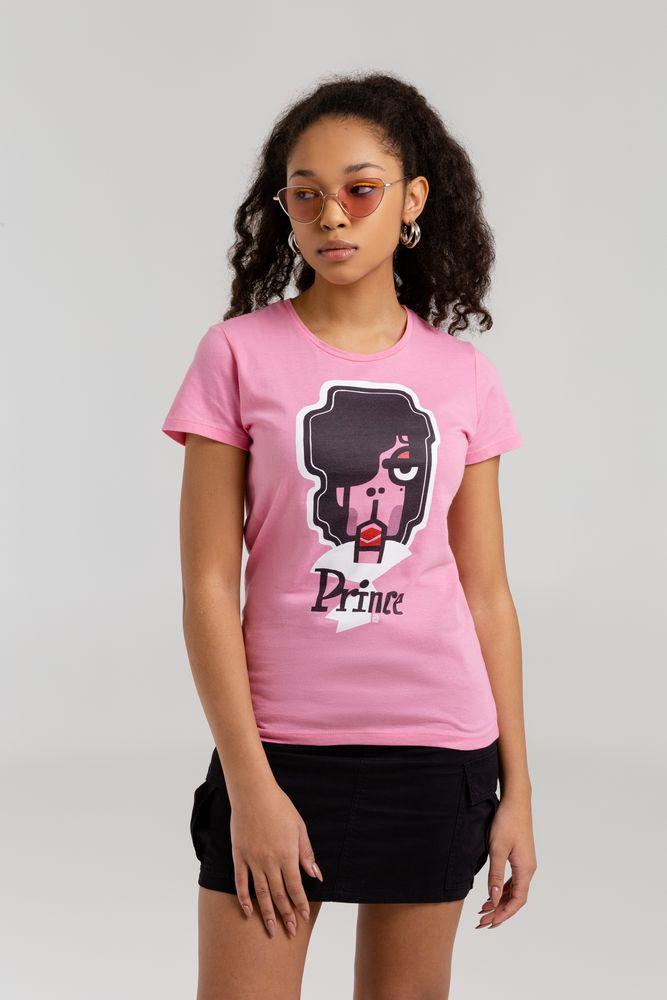 Фото - Футболка женская «Меламед. Prince», розовая, размер S футболка женская ван пиг белый размер s