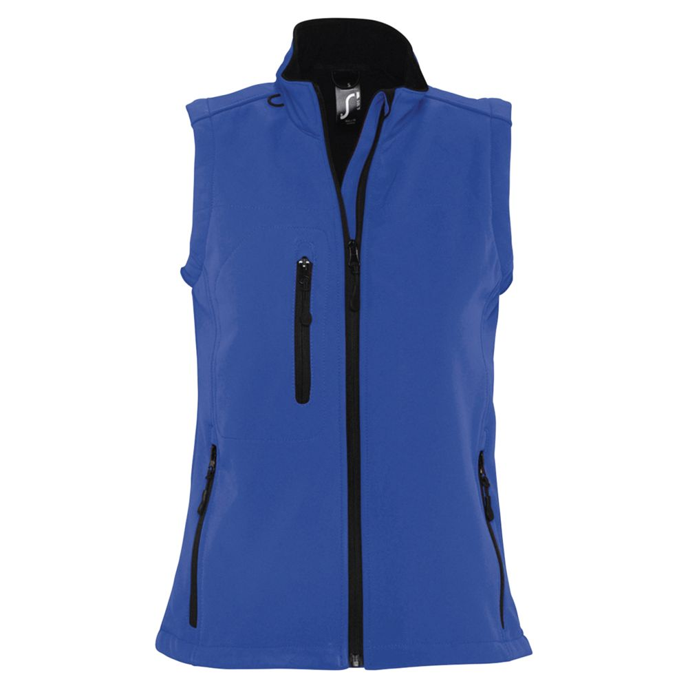 Жилет женский софтшелл RALLYE WOMEN ярко-синий, размер S жилет мужской софтшелл rallye men ярко синий размер xl