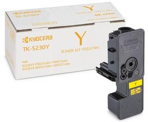 Фото - Тонер-картридж Kyocera TK-5230Y картридж kyocera tk 8600c