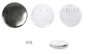 Заготовки для значков d44 мм, клипса/магнит, 200 шт клипса для парника garden show вентиляционная для дуг 11 12 мм 10 шт