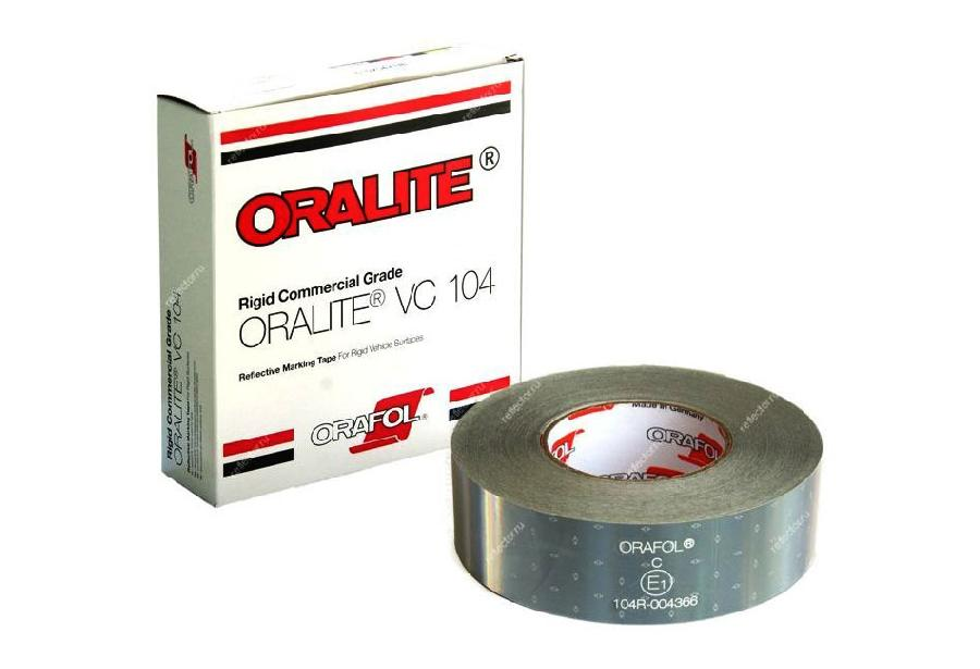 цена на Oralite/Reflexite VC104 Rigid Grade Commercial для жесткого борта, белая 0.05x50 м