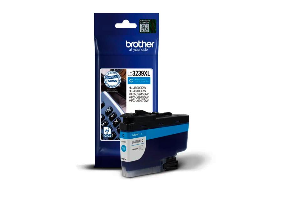 Фото - Оригинальный картридж повышенной ёмкости Brother LC-3239XLC (LC3239XLC) картридж brother lc 970bk
