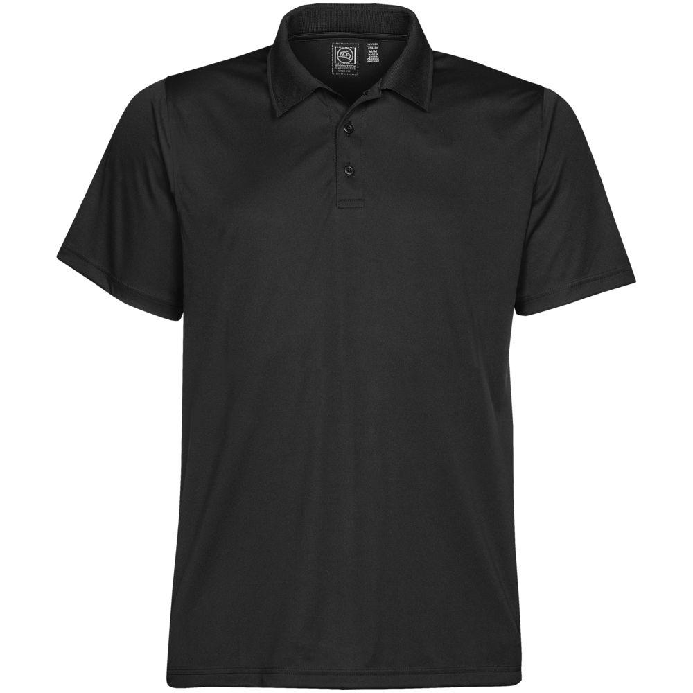 Рубашка поло мужская Eclipse H2X-Dry черная, размер M