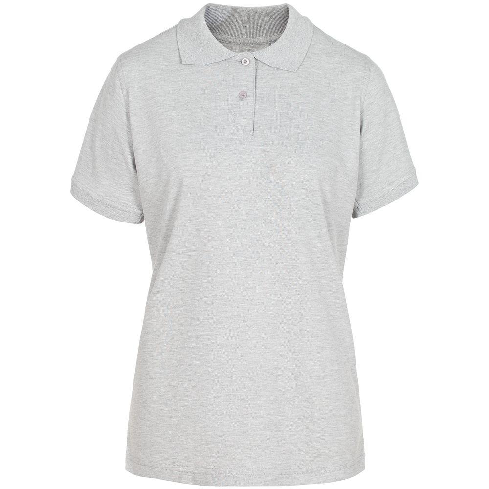 Рубашка поло женская Virma Stretch Lady, серый меланж, размер M