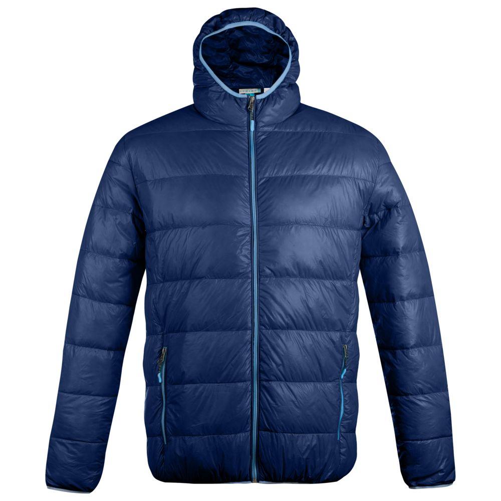 Куртка пуховая мужская Tarner темно-синяя, размер M куртка мужская finn flare цвет темно зеленый w18 22011 размер m 48