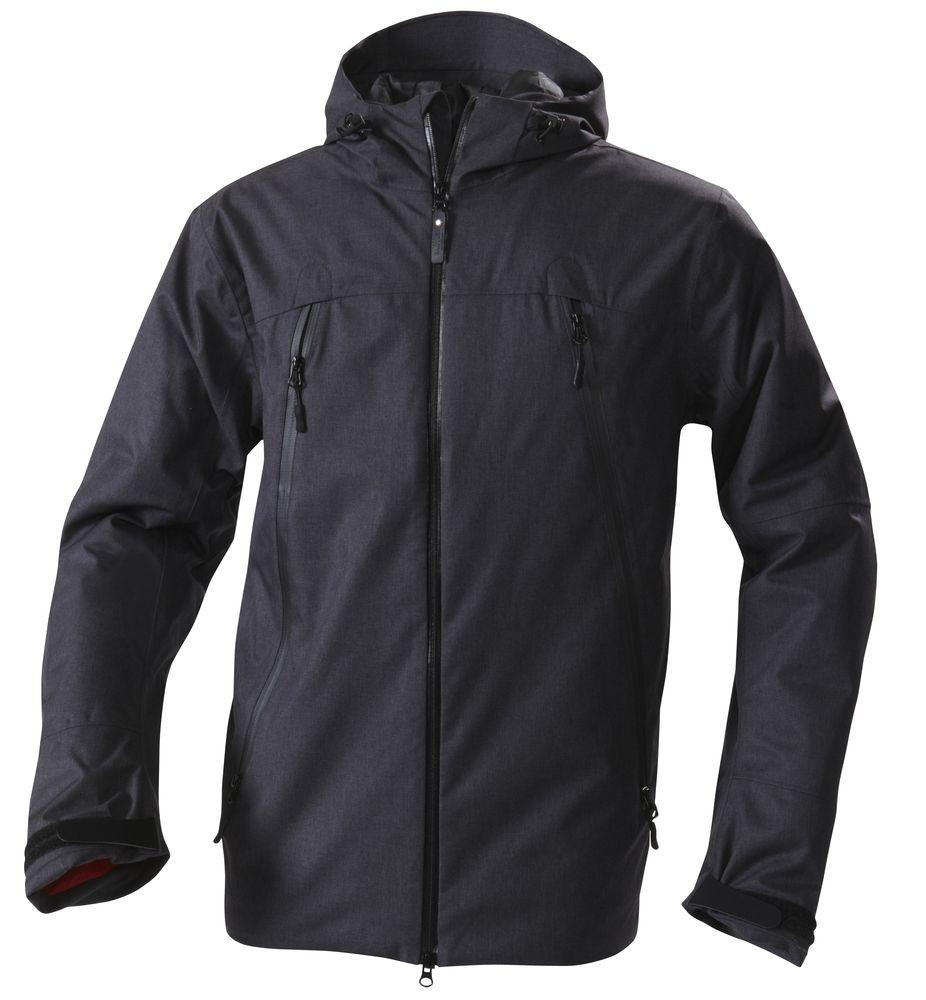 цена Куртка мужская JACKSON, черный меланж, размер L онлайн в 2017 году